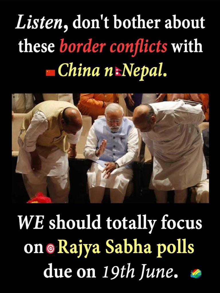 Rajya Sabha poll