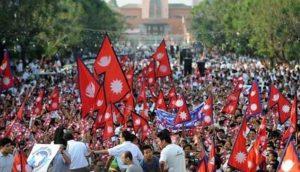 Nepal rally